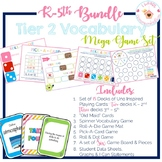 K - 5th Tier Two Vocabulary Mega Game Set BUNDLE