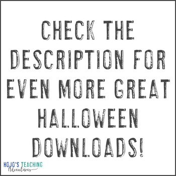 FREE Halloween Center Game
