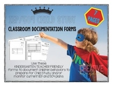 K-6 IEP and 504 Behavior Documentation Forms