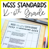 K-6 NGSS Standards Checklists and More BUNDLE | Science Te