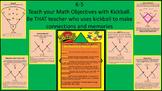K-6 Teachers Teach Math SHAPES with Kickball- Math Objectives Covered
