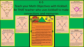 K-6 Teachers Teach Math SHAPES with Kickball- Math Objecti