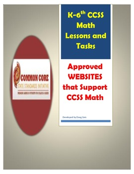 Common Core K-6th Grade Math Lessons and Tasks