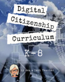 K-8 Digital Citizenship Curriculum