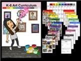 K-8 Elementary Art Yearly Curriculum