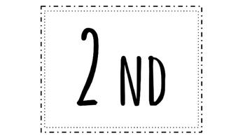 K-8 Labels / Signs