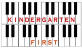 K-8 Music Classroom Reward Keyboard
