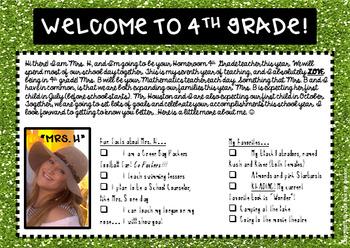 K-8 POSTCARDS for Back to School, Summer, Meet the Teacher(EDITABLE, 14 Designs)