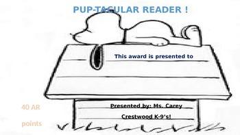 K-9 Themed AR awards