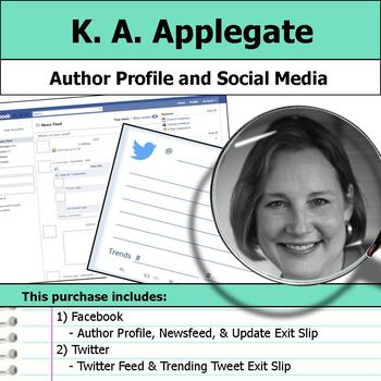 K. A. Applegate - Author Study - Profile and Social Media
