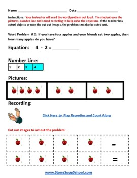 K -  ADD ADHD  - Operations and Algebraic Thinking - Common Core