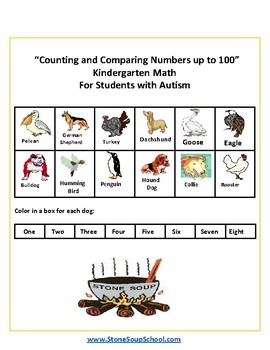 K -  Autism -   Counting and Comparing Numbers up to 100