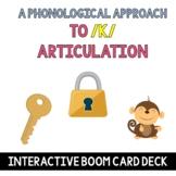 K Articulation - A Phonological Awareness Approach