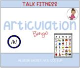 K Articulation Bingo