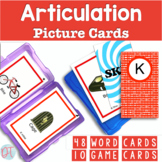 Articulation Picture Cards for K