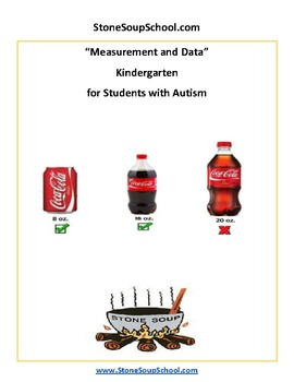 K - Measurement and Data - For Students with Autism - Common Core