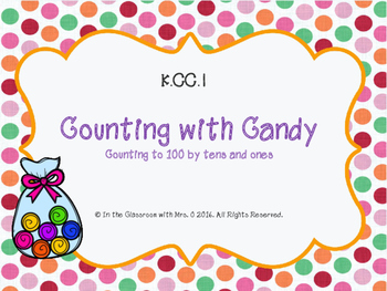 K.CC.1 Counting with Candy