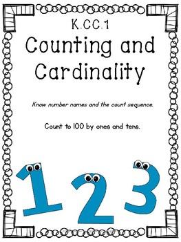 K.CC.1 Number Names and Count Sequence