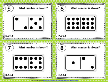 "K.CC.4 Task Cards: ""Understanding Counting"" Task Cards, K.CC.4 Centers"