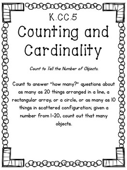 K.CC.5 Count to Answer How Many?