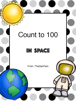 K.CC.A.1 Astronaut Count by Tens (NO PREP)
