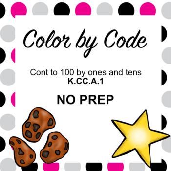K.CC.A.1 Color by Code (NO PREP)