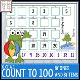 K.CC.A.1 Counting to 100 Worksheets