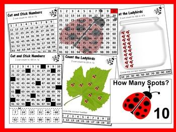 K.CC.A.1 Ladybird Spots Math Bundle