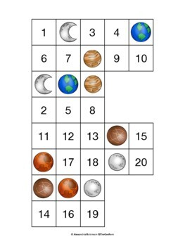 K.CC.A.1 Mystery Numbers (Math Center)