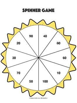 K.CC.A.1 Spinner Game (Math Center)