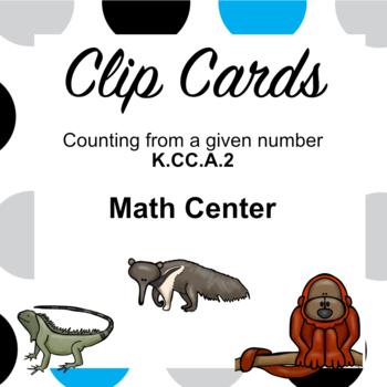 K.CC.A.2 Clip Cards Center