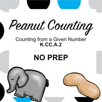 K.CC.A.2 Peanut Count (NO PREP)