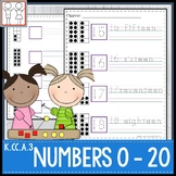 K.CC.A.3 Numbers to 20 Worksheets