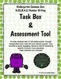 K.CC.B.4.C Math Task Boxes- Number After
