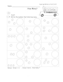 Numbers and Counting MEGA Pack! 79 pgs Kindergarten Common Core