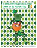 K Be Keen Wear Green on St. Patrick's Day (READING COMPREHENSION)