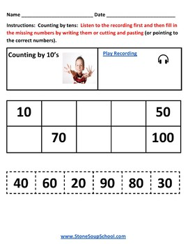 K -  Delaware: Geometry, Algebraic, Base 10, Measure & Data, Counting to 100