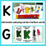 K G Articulation Playing Cards, Mini Books & Cariboo Cards