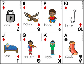 Articulation Playing Cards for K - Card Deck