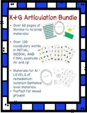 K & G (Fronting) Articulation Bundle