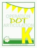 K, G Operation Dot Articulation