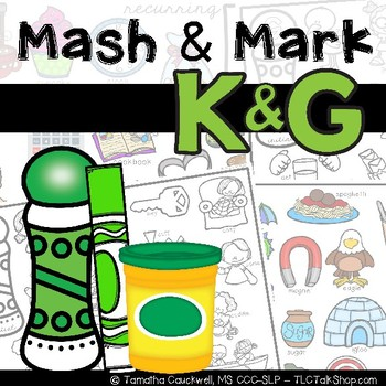 Articulation K & G: Dough N' Go