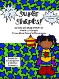 Kindergarten Shape Unit Part 1