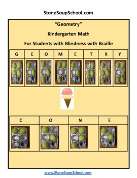 Geometry -  Students with Blindness w/ Braille