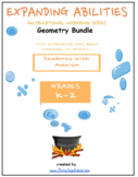 K - Grade 2, CCS: Geometry Bundle for Students with Autism
