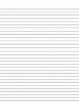 K-Grade 2 Manuscript Paper