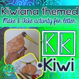 K = KIWI {Kiwiana Themed 'Make & Take' Alphabet Set}