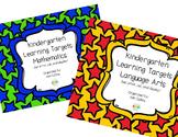 K Learning Targets- ELA and Math