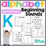 K Letter Activity Pack