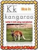 K Like in Kangaroo (Letter K Unit Using Real Photos!)